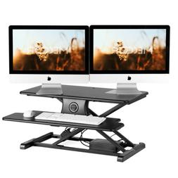 "32"" Electric Workstation Ergonomic Adjustable Stand Up Desk"