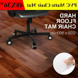 48x36 Smooth PVC Floor Mat Protector for Hard Wood Floors Ho