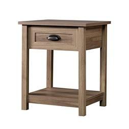 """Sauder 417771 County Line Side Table/Night Stand L: 19.84"""" x"""