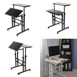 Adjustable Height Stand Up Desk Computer Workstation Lift Ri