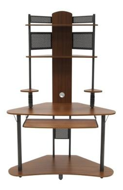 Arch Tower - Pewter and Teak