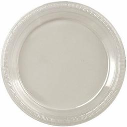 Big Party Pack 50 Count Plastic Dessert Plates, 7-Inch