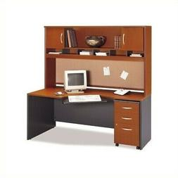 Bush Business Furniture Home Office Computer Desk Set with H