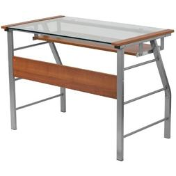 Computer Desk with Pull-Out Keyboard