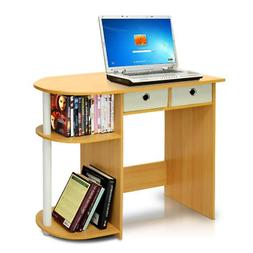 Computer Desk Table Workstation For Small Spaces Wood Home O