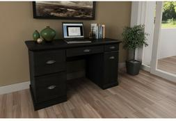 Computer Desk with Filing Drawers Student Home Office Dorm R