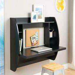 Coner Desk Floating Wall Mounted Computer Laptop Table Books