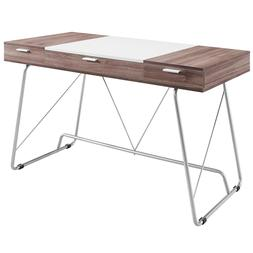 """Cool Office Furniture – """"Liam's Way"""" Space Saving Desk"""
