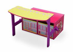 Desk Storage Craft Bench Play And Eat For Girls Furniture Wo