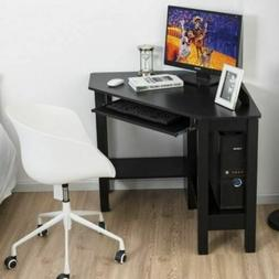 Durable Wooden Study Home Office Computer Corner Desk w/Draw