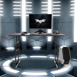 Gaming Desk  Z-Shaped Computer Table Home office Racing Tabl