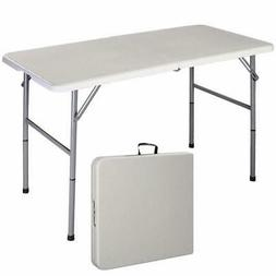Giantex Folding Table Portable Picnic Party Dining Camp Tabl