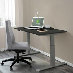 """AdvanceUp Grey 47"""" Dual Motor Electric Stand Up Ergo Office"""