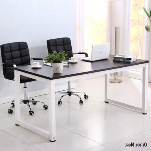 Wood Laptop Table Workstation Home
