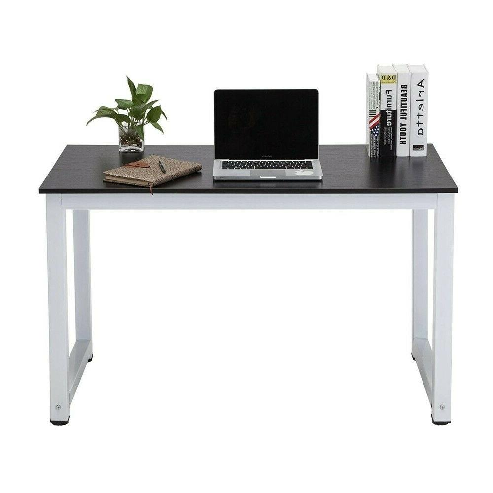 43inch large mdf computer office desk pc