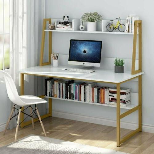 47 home office computer desk with hutch
