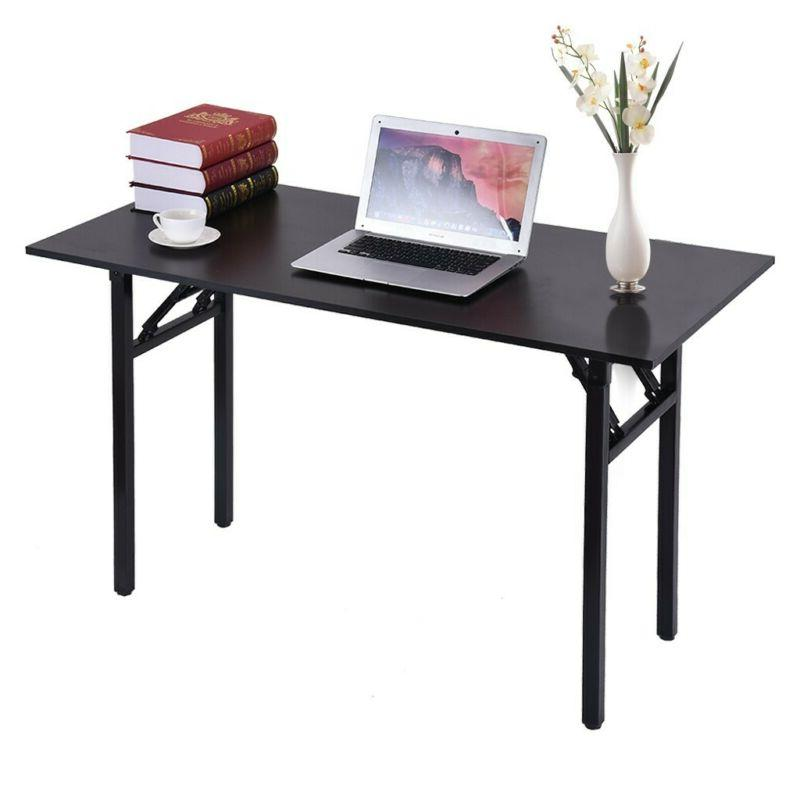 Home Office Desk, 47in Writing Desks Large Study Computer Ta