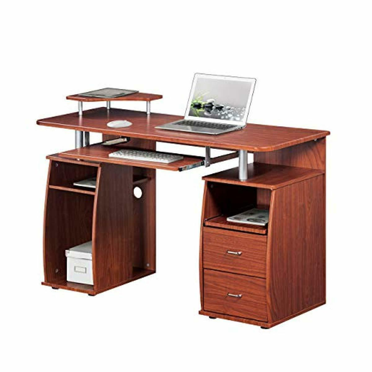 Complete Computer With Mahogany