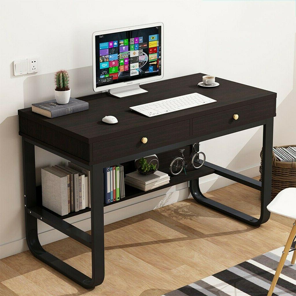 Computer Desk Table Home w/Drawers