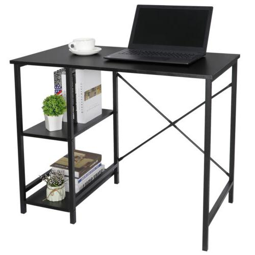 Black Computer Office With Tier