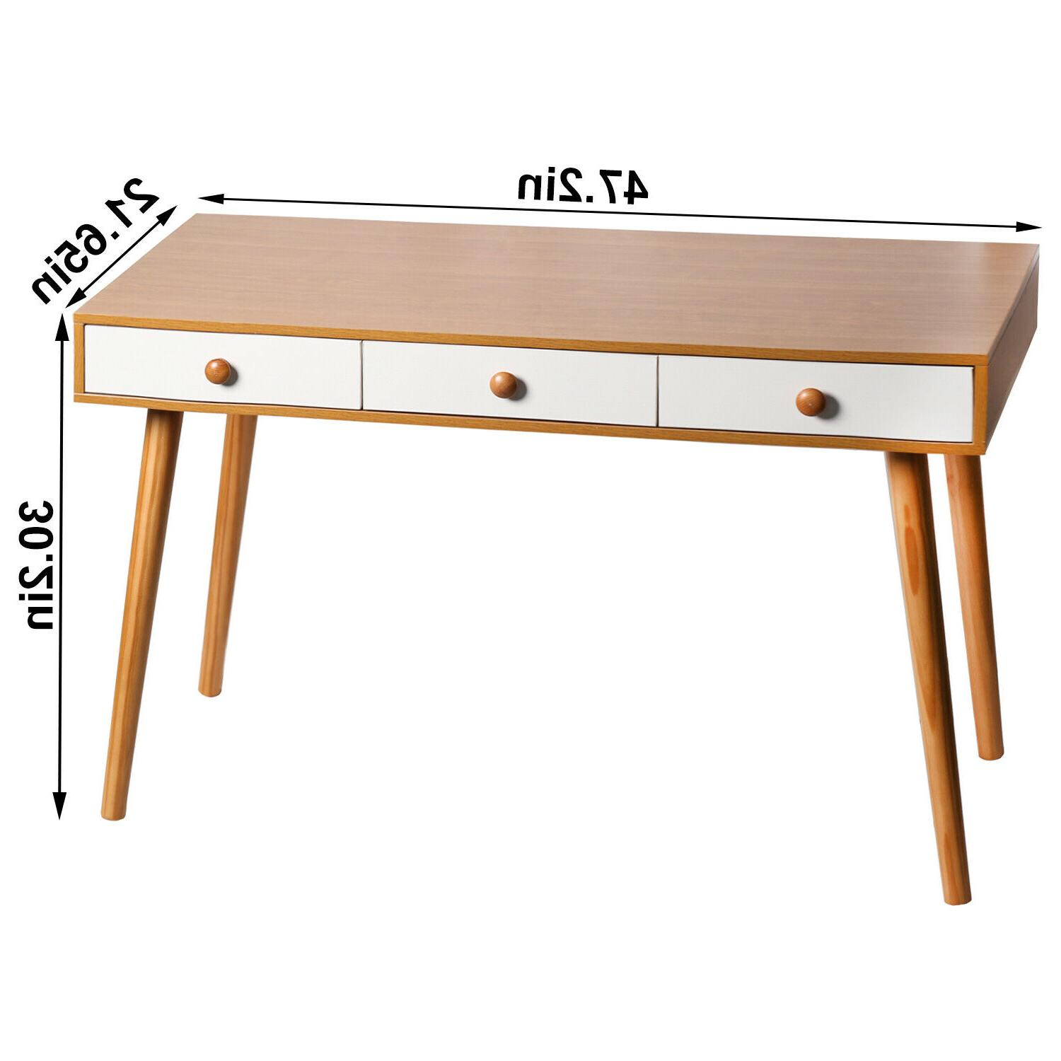 Computer Writing Table Home Drawers &