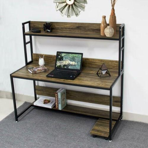 Bizzoelife Computer Table Hutch for