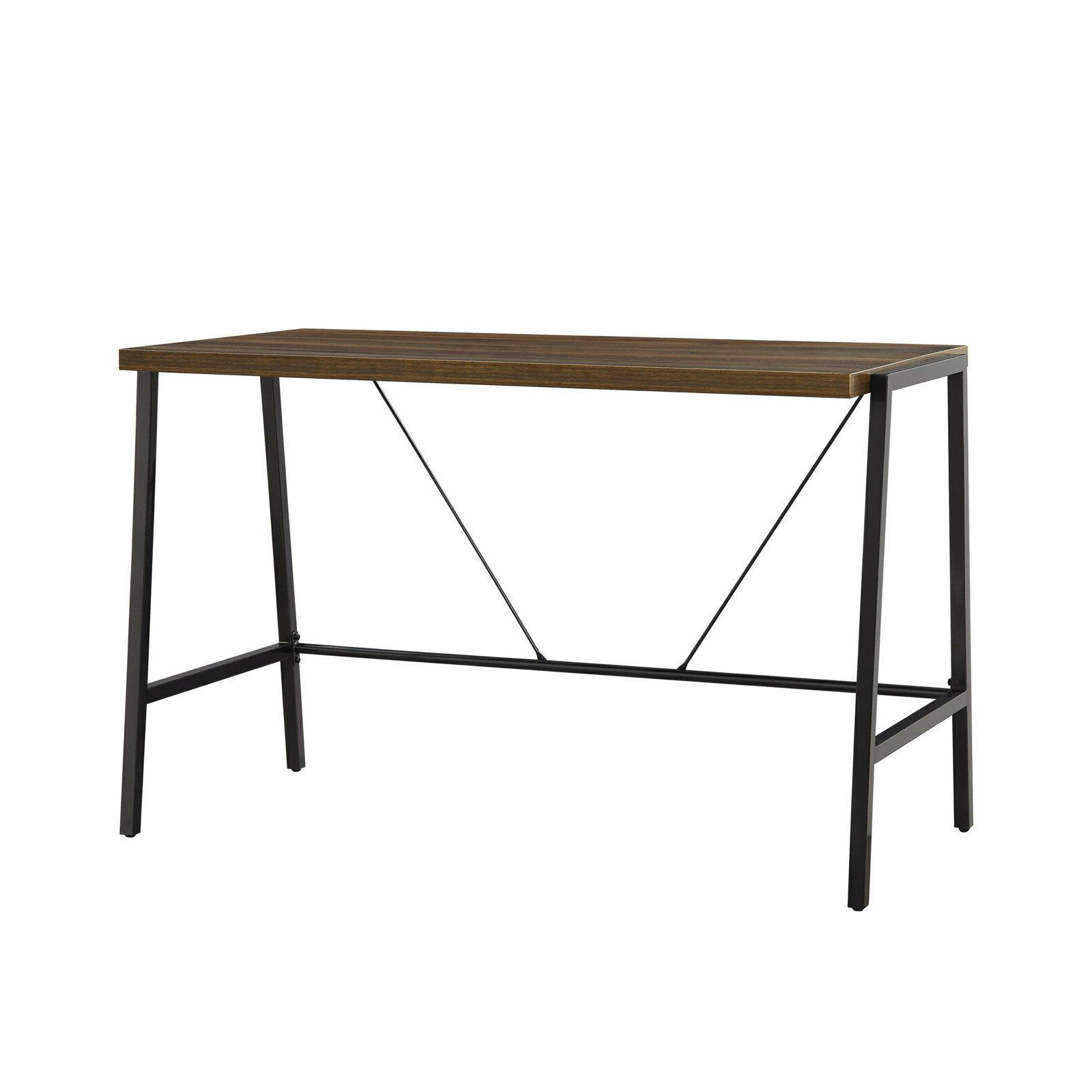 computer writing desk industrial contemporary design sturdy
