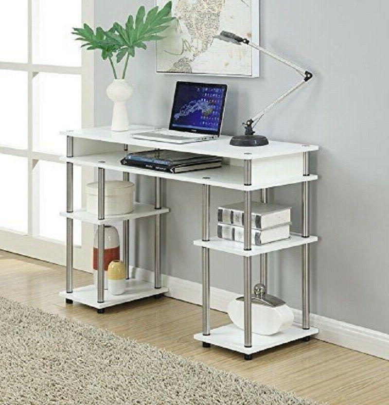 Desk For Girls Student Dorm College Kids Teens Compact Small