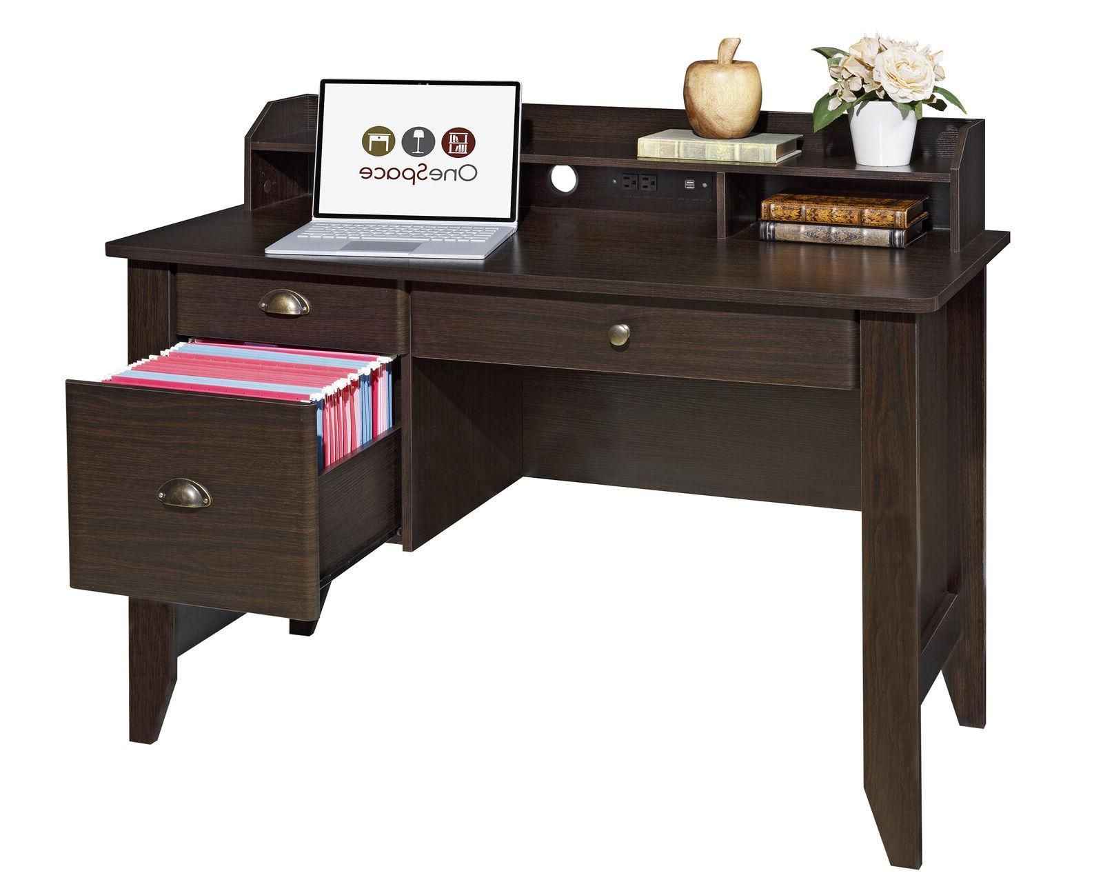 Executive Small Hutch USB Home Office Space
