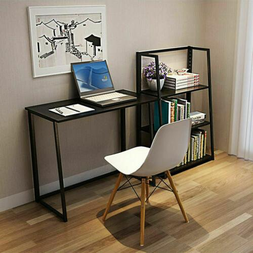 folding desk corner computer writing laptop table