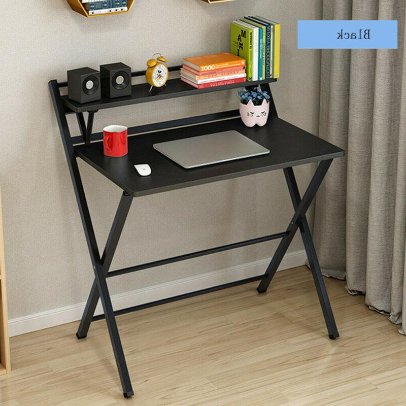 Folding Study Desk For Small Space Home Office Desk Simple L