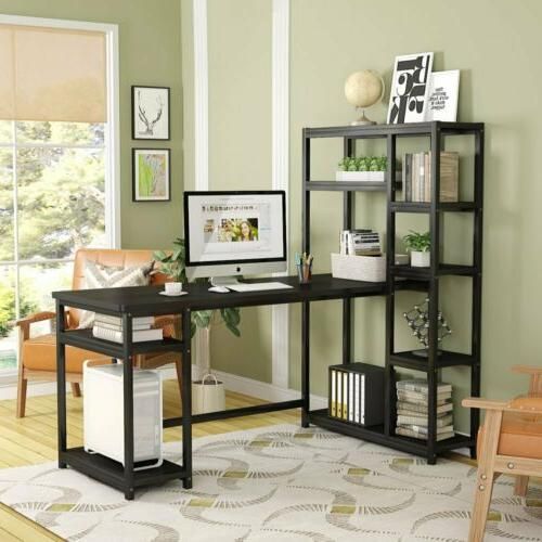 Tribesigns L-Shape Reversible for Home Office