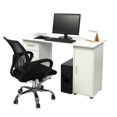 Computer Laptop Desk Home Office Furniture With 4 Drawers St