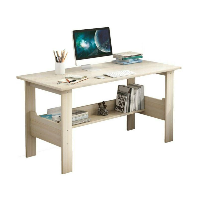 Home Office Desk Wood Table