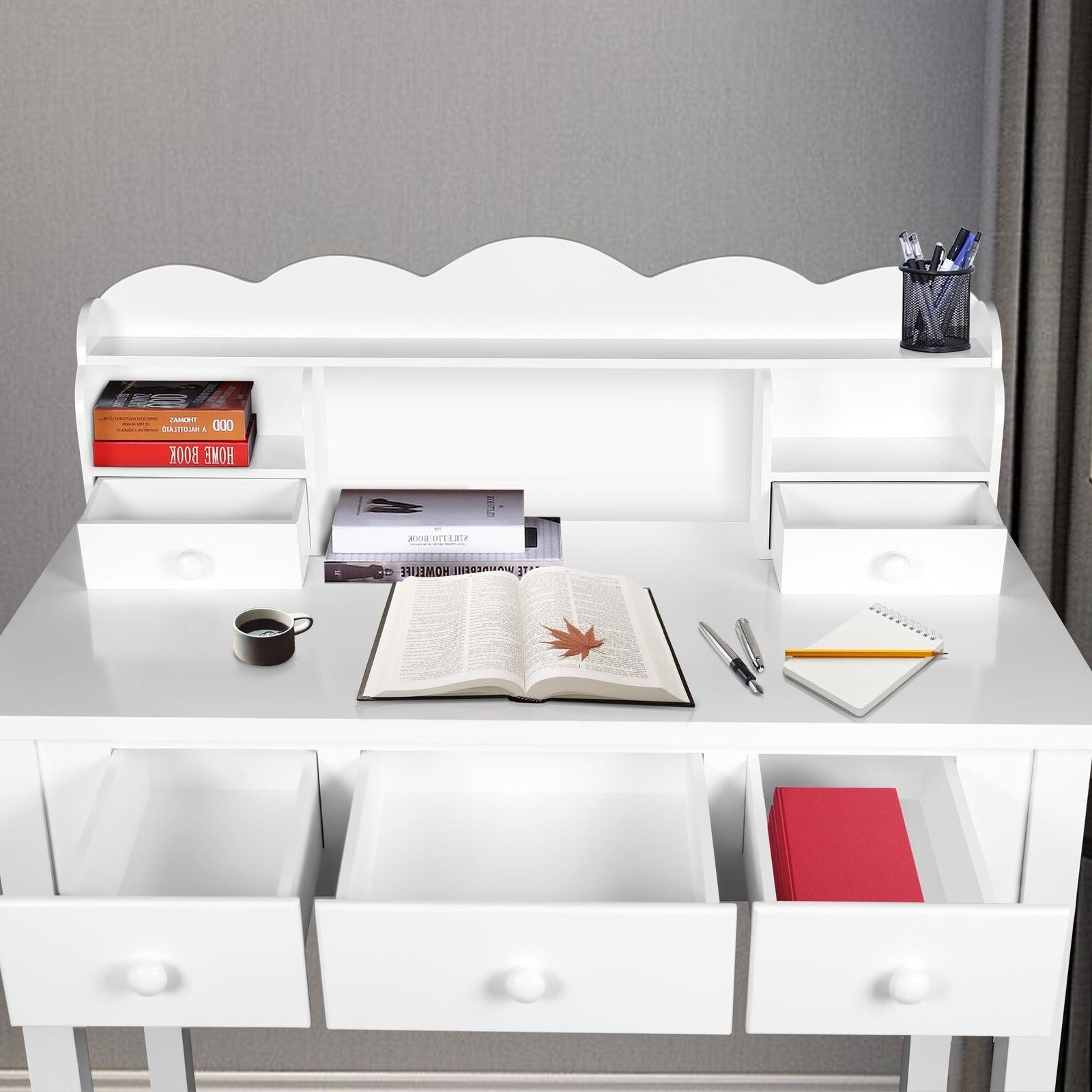 Home Furniture Writing Desk,Computer Work with Detachable