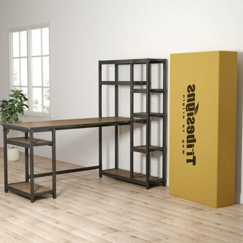 Tribesigns L-Shape Computer Desk with for Home Office