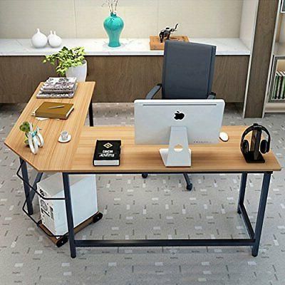 Office L-Shaped Workstation Student Writing Table