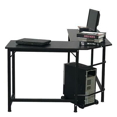 New Laptop Table Workstation Corner Home Office