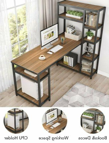 Tribesigns Reversible Desk Storage for Home