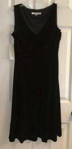 New With Tags - Evan Picone Little Black Dress - Desk to Din