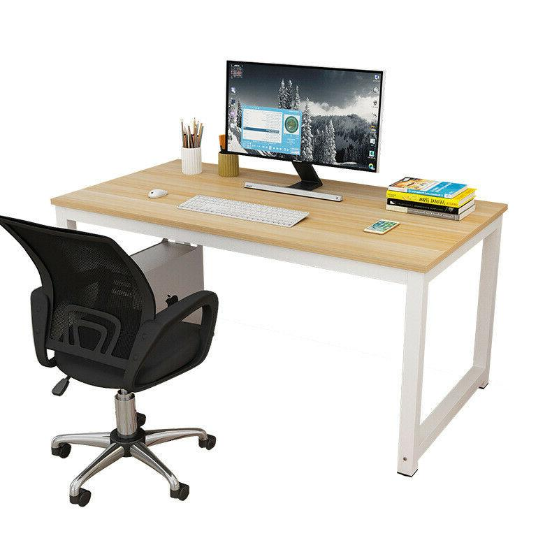 Wood Computer Table Desk Furniture Laptop