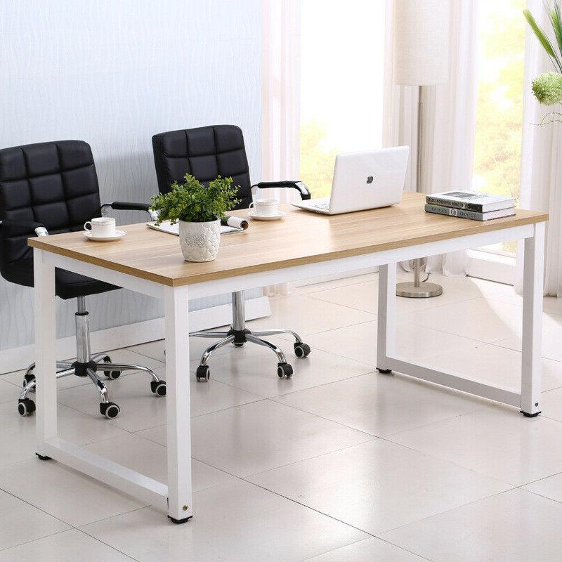 Wood Desk Office PC Laptop Home US
