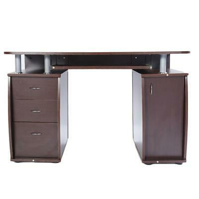 PC Table Study Writing Home w/Drawer
