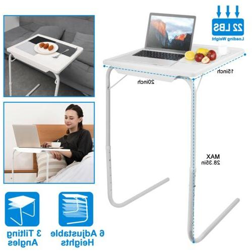 portable foldable sofa table tv dinner bed