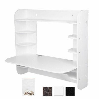 pre sale floating wall mounted computer desk