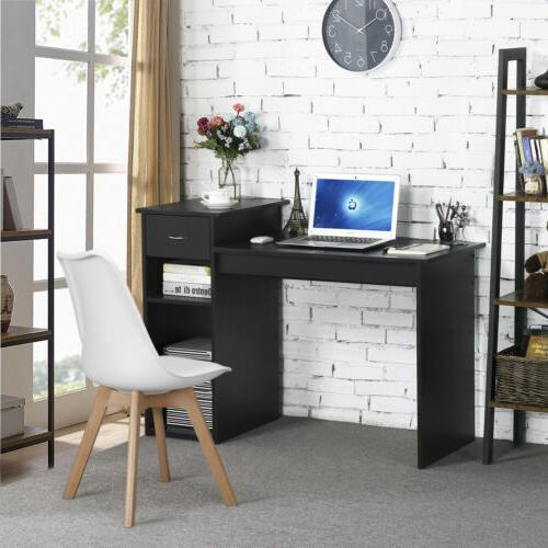 Small Computer Desk Laptop Table with Drawer Home Furniture