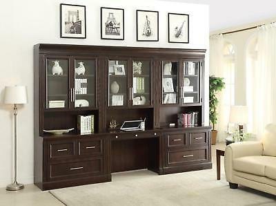 stanford transitional home office library set finished