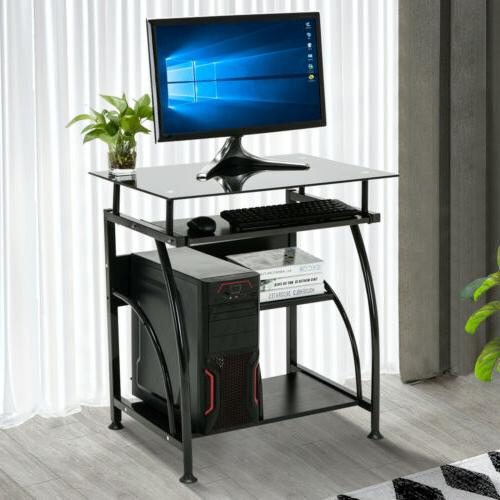 PC Corner Computer Desk Laptop Table Workstation Furniture B
