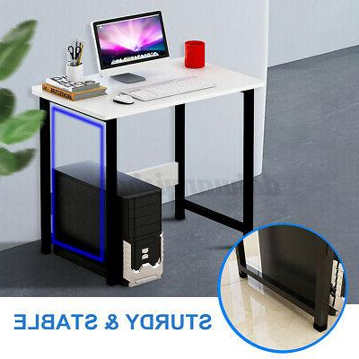 US Wooden Laptop Table Study Desk Office Furniture PC Home