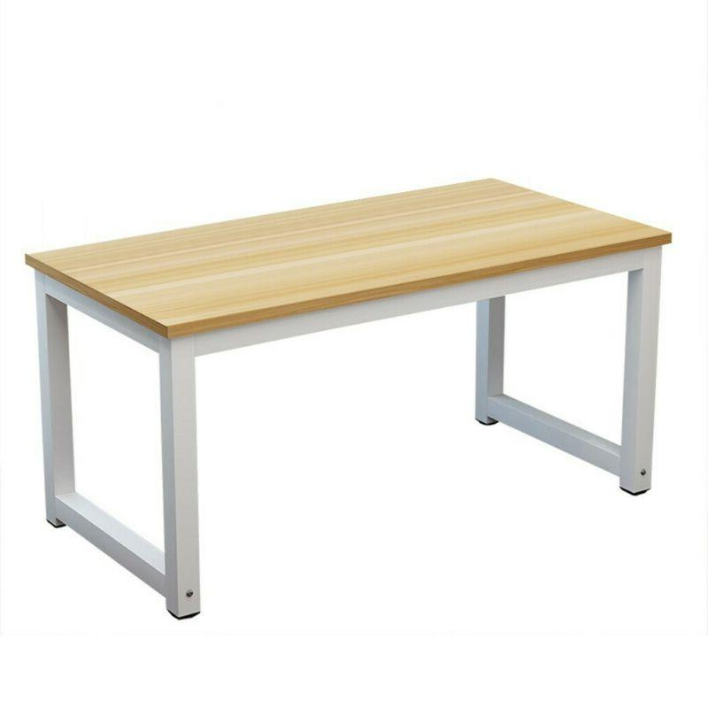 Wood PC Laptop Table Workstation Home Office